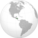Honduras (orthographic projection).svg