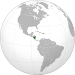 Nicaragua (orthographic projection).svg